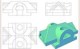 Hình họa vẽ kỹ thuật với AutoCAD