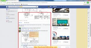 Hình ảnh về vài dòng trao đổi, hỗ trợ học AutoCAD Online